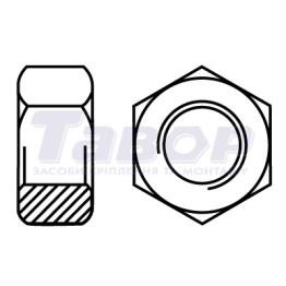 Гайка шестигранна (аналог DIN 934)