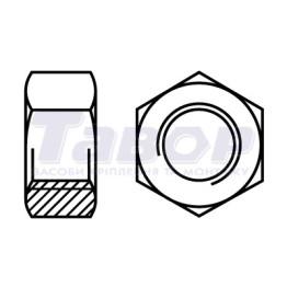Гайка шестигранна з дюймовою різьбою UNC