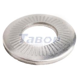 Шайба контактна рифлена із зубцями покрита Dacromet 500®