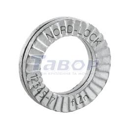 Шайба стопорна NORD-LOCK, парна, оцинкована, сталева