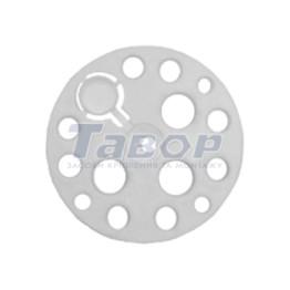 Дожимна тарілка з термозаглушкою для монтажу термоізоляційних матеріалів