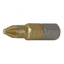 Насадка (біта) PH для шуруповертів з титановим покриттям TiN