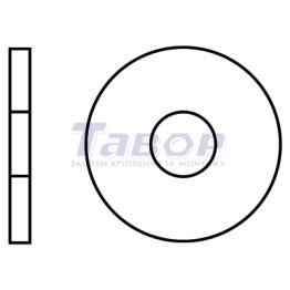 Шайба плоска, збільшена, підкладна, для з'єднань дерев'яних елементів