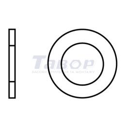 Шайба плоска, з фаскою, форма В