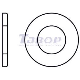 Шайба плоска, без фаски, поліамід, форма А