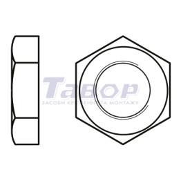 Гайка шестигранна низька із дюймовою трубною різьбою G