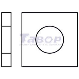 Шайба квадратна для дерев'яних конструкцій