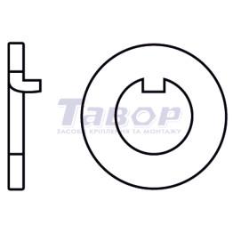 Шайба стопорна з внутрішнім вусом (для гайки DIN 1804)