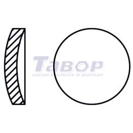 Шайба кругла запірна сталева