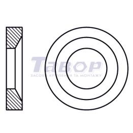 Шайба конічна, сталева, форма G