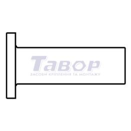 Заклепки для гальмівних накладок і накладок зчеплення (тип A)
