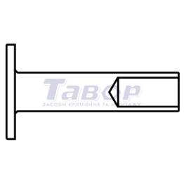 Заклепки для гальмівних накладок і накладок зчеплення (тип B)