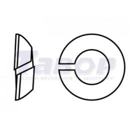 Шайба для осьового центрування, конічна, форма - С