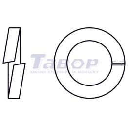 Шайба пружинна (гровер), для гвинтів з циліндричною головкою