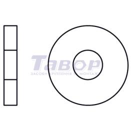 Шайба кузовна, виконання А, збільшена, зовнішній діаметр близько 3d