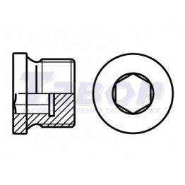 Пробка гвинтова нажимний з внутрішнім шестигранником з дюймовою різьбою UNC
