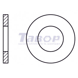 Шайба кругла з фаскою міцна HV
