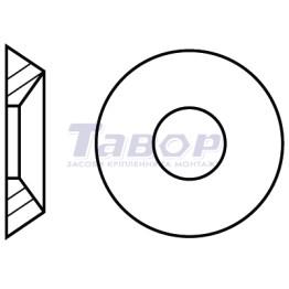 Шайба РОЗЕТКА фінішна з конусом по внутрішньому діаметру 90 градусів