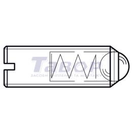Гвинт з потайною головкою і шліцом (Torx)