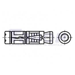Анкер однорозпірний втулковий з гайкою Fischer FSA-B