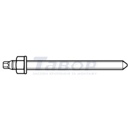 Анкерна шпилька для хімічних анкерів у капсулах FTR Fischer TN 2212
