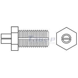 Дюбель TB для кріплення сходових ступенів до сталевих сходових балок