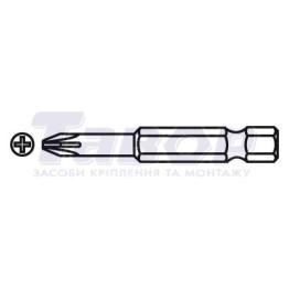 Насадка подовжуюча (біта) PH для шуруповертів TH із загартованою робочою частиною