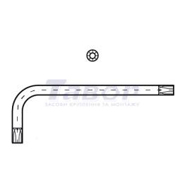 Ключ L-подібний під шліц Torx
