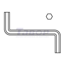 Ключ шестигранний Z-подібний