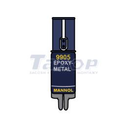 Клей епоксидний рідкий метал Epoxy Metal 9905 Mannol