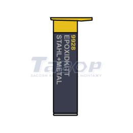 Двокомпонентна шпаклівка Epoxidkitt Stahl + Metall 9928 Mannol