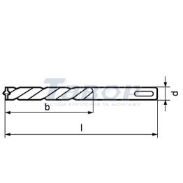Свердло по бетону Quattric II Fischer